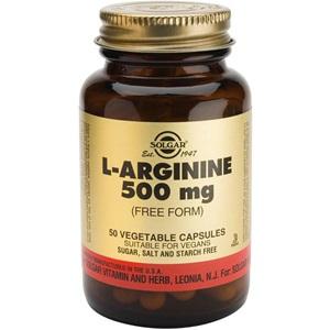 SOLGAR L-Arginine 500mg 50's < Erp