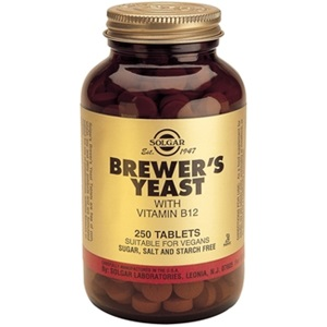 SOLGAR Brewer's Yeast with Vitamin B-12 < Erp