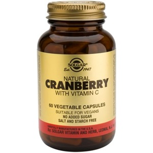 SOLGAR Cranberry Extract with Vitamin C < Erp