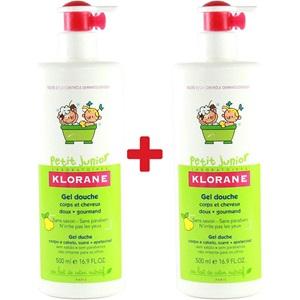 KLORANE Gel Douche Corps et Cheveux Petit Junior - Parfum Poire 1 + 1 < Erp