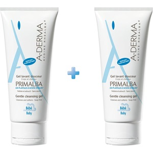 A-DERMA Primalba Baby Gentle Cleansing Gel, 200ml + 200ml < Erp