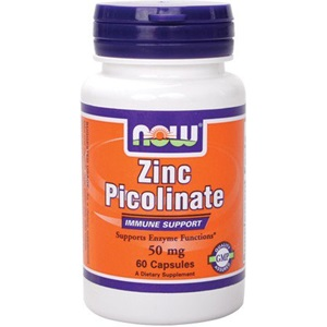 Now foods Zinc Picolinate 60 Κάψουλες < Erp