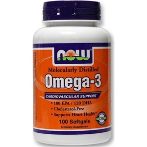 Now foods Omega-3 100 Κάψουλες 1000mg  < Erp