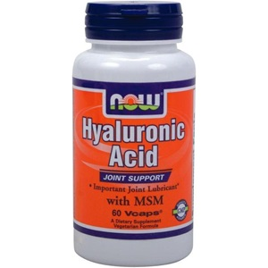 Now foods Hyaluronic Acid 50mg & 450mg MSM. 60 VΚάψουλες  < Erp