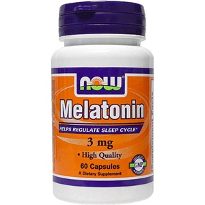 Now foods Melatonin 3 mg60 Κάψουλες < Erp